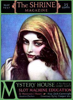 The Shrine Magazine, May 1927 // artist Wladyslaw Theodor Benda