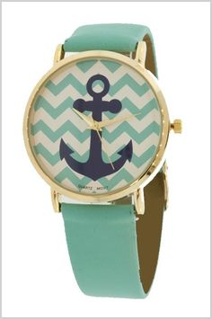 Ahoy mates, presenting the anchor watch in one of its oh-so-nautical color combos