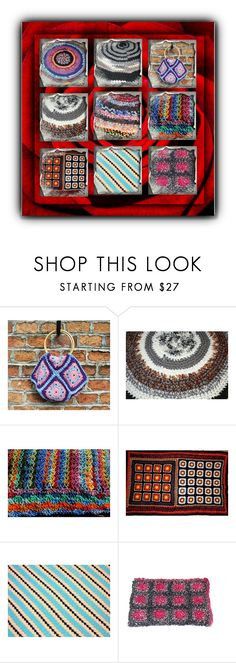 Sabine CrochetRagRug on Etsy by sabine-promote on Polyvore featuring interior, interiors, interior design, Zuhause, home decor and interior decorating