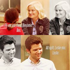 this so needs to happen. best and most adorable slow burn on tv. Leslie Parks And Rec, Leslie And Ben, Parcs And Rec, Geek Charming, Ben Wyatt, Tv Head, Fools And Horses, Leslie Knope, New Comedies