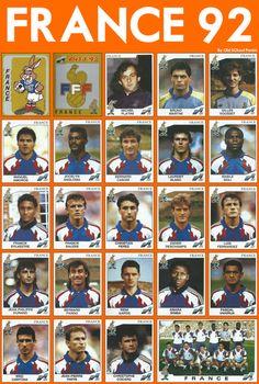 Old School Panini God Of Football, Football Images, Football Soccer, Soccer Cards, Football Cards, France Team, Association Football, International Football, Vintage Football