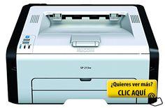 Ricoh Aficio SP213W - Impresora laser (monocromo,... #impresora
