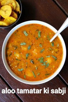 aloo tamatar ki sabji recipe, aloo tamatar recipe, potato tomato curry with step by step photo/video. gravy based curry with boiled potatoes & tomatoes. Aloo Recipes, Spicy Recipes, Curry Recipes, Vegetarian Recipes, Snacks Recipes, Pakora Recipes, Paratha Recipes, Potato Recipes, Indian Veg Recipes