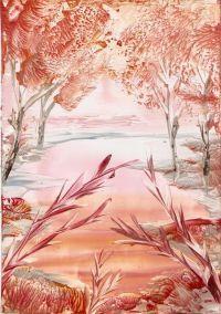 Encaustic art. I think its beautiful.