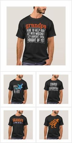 Funny Dad Shirts, Dad To Be Shirts, New Fathers, Dad Humor, Gifts For Husband, Dads, Mens Tops, Fashion, Moda