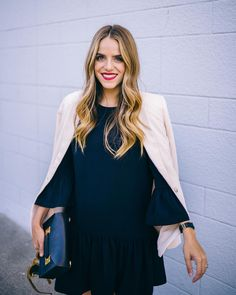 Black & cream on repeat. More on galmeetsglam.com today  a big thank you for all of your support yesterday! #ontheblog #blackandcream #lbd @shopbop