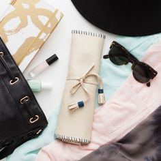 Pack All Your Favorite Pieces in This DIY Travel Jewelry Roll   Brit + Co