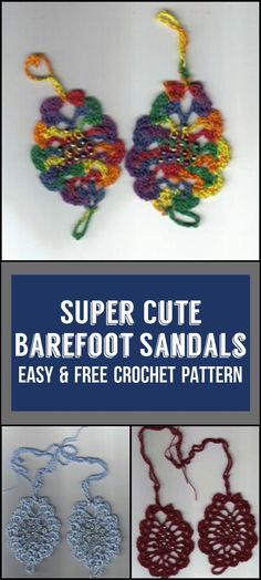 Crochet Barefoot Sandals - 50+ Free Crochet Patterns - Page 3 of 10 - DIY & Crafts