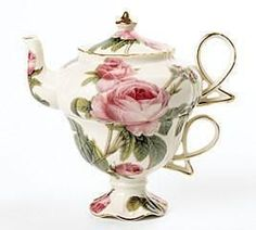 Romantic Rose Tea for One Set - Roses And Teacups