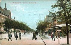 Copenhagen. 1907. Vestre Boulevard.
