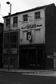 Viaduct pub, Leeds, no cask ale available here now! Leeds Pubs, Leeds City, Ireland Pubs, Industrial Architecture, My Town, Good Old, Where To Go, Cool Pictures, The Past