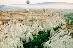 Hope Engaged: A Balloon Ride over Cappadocia, Turkey