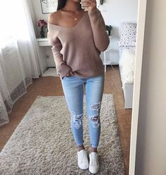 • Sweater - HERE • Jeans - HERE