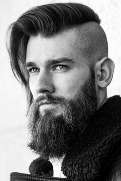 An undercut long hair look comes out dapper and bold. Besides, there are many ways to pull it off, such as a sidecut, bald fade with a hair design and others. Because we could not leave you without inspiration, we have compiled this collection. #menshaircuts #menshairstyles #undercut #undercutmen #undercutlonghair #longhairundercut