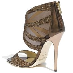 "Jimmy Choo ""Leila"" Mesh Sandals"