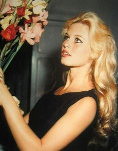 Brigitte Bardot, 1958; a little orange-y but I like the shine and gloss