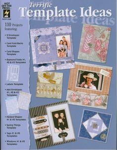 Terrific Template Scrapbooking Idea Book | PamsBeadParadise - Books & Magazines on ArtFire