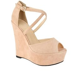 Perfect Me Womens Faux Leather Strappy Wedge Platform Peep Toe Sandals - Nude / Beige - US 9 Perfect Me http://www.amazon.com/dp/B00K6HWQKE/ref=cm_sw_r_pi_dp_tI7-ub1VAV545