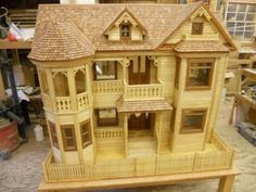 Victorian Dollhouse | Woodworking |Videos | Plans | How To