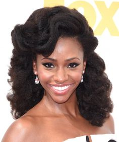 ***Try Hair Trigger Growth Elixir*** ========================= {Grow Lust Worthy Hair FASTER Naturally with Hair Trigger} ========================= Go To: www.HairTriggerr.com =========================       Teyonah Parris Natural Hair is Always So Stunning!!!