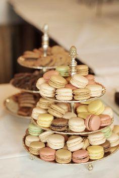 Macarons.....wat zien ze er heerlijk uit!!!