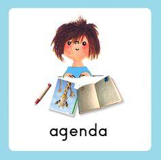 Daglijn Floddertje: agenda Schedule Cards, Working With Children, Schmidt, Diy For Kids, 1, Classroom, School, Anime, Adhd