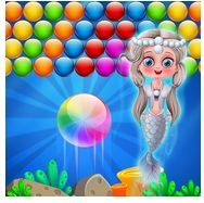 Enjoy watching Little Mermaid Bubble Shooter walkthrough video