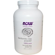 Now Foods, Bentonite Clay Powder, 1 lb (454 g)