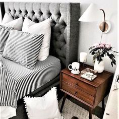 This colour palette Monochrome tones . . . . #bedroom #interiors #goals #hinspo #hinspointeriors