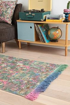 Magical Thinking Dyed Dot Rug