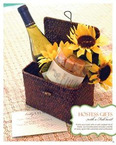 Fall Hostess gift