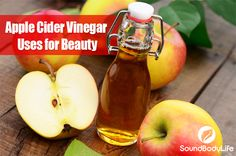 A fabulous kitchen staple-- often-overlooked -- that benefits our daily beauty regimen, is apple cider vinegar. Apple cider vinegar is cheap and balances pH levels from our heads to our toes. You c...