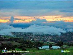Atardecer en Cubiro el martes 05-07-2016