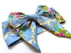 Head Wrap Head Scarf Tie Up Headband Boho  Infant by 8thDayEncore