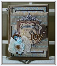 Vintage Mini in Blue - Polly's Paper