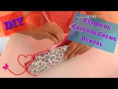 DIY: Estojo Com Caixa de Creme Dental