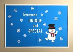 Items similar to Winter Bulletin Board Set, Snowman Bulletin Board, Winter Classroom Decorations, Winter Classroom Door Decoration, Snowflake Bulletin Board on Etsy