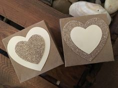 Favour Boxes with Glitter Heart by ShowstopperEvents on Etsy Favour Boxes, Glitter Hearts, Wedding Favours, Handmade Wedding, Favors, Wedding Decorations, Events, Unique Jewelry, Handmade Gifts