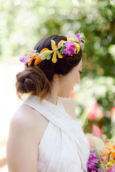 Amazing Weddings, Real Weddings, Beach Wedding Decorations, Wedding Hair And Makeup, Wedding Story, Brides And Bridesmaids, Tropical Flowers, Wedding Make Up, Wedding Inspiration