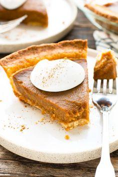 grain-free vegan pumpkin pie