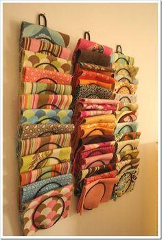 Util para pañuelos y hasta remeras