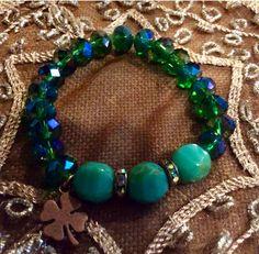 St Patrick's bracelet