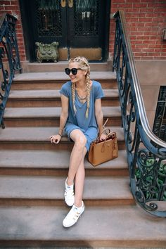 Barefoot Blonde Amber Fillerup wearing Socialite dress from Nordstrom