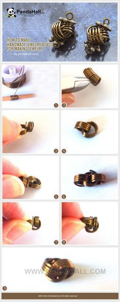 """Learn tips to make handmade jewelry beads that can be also named """"Danish love knot"""". This trend is all the rage right now, especially with the retro style fashion that we have been seeing lately. These beads for making jewelry are actually surprisingly well-known."""