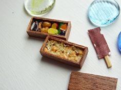 きのこと鮭の炊き込み二段弁当