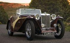 1948 MG TC Roadster ===> https://de.pinterest.com/pin/321725967112538241/