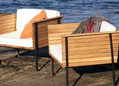 teak and metal outdoor furniture
