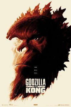 King Kong Vs Godzilla, Monster Verse, Monster Art, Science Fiction, All Godzilla Monsters, Godzilla Wallpaper, Foto Top, Kong Movie, Skull Island