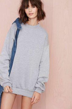 Nasty Gal Dillon Sweatshirt - Sweatshirts | Tops | Fall Of The Wild | Play, Girl | Mia
