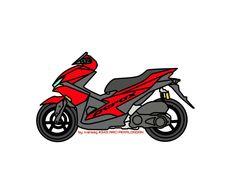 Aerox 155 Yamaha, Yamaha Scooter, Drag Bike, Motorcycle Art, Motogp, Aesthetic Wallpapers, Racing, Vehicles, Artwork